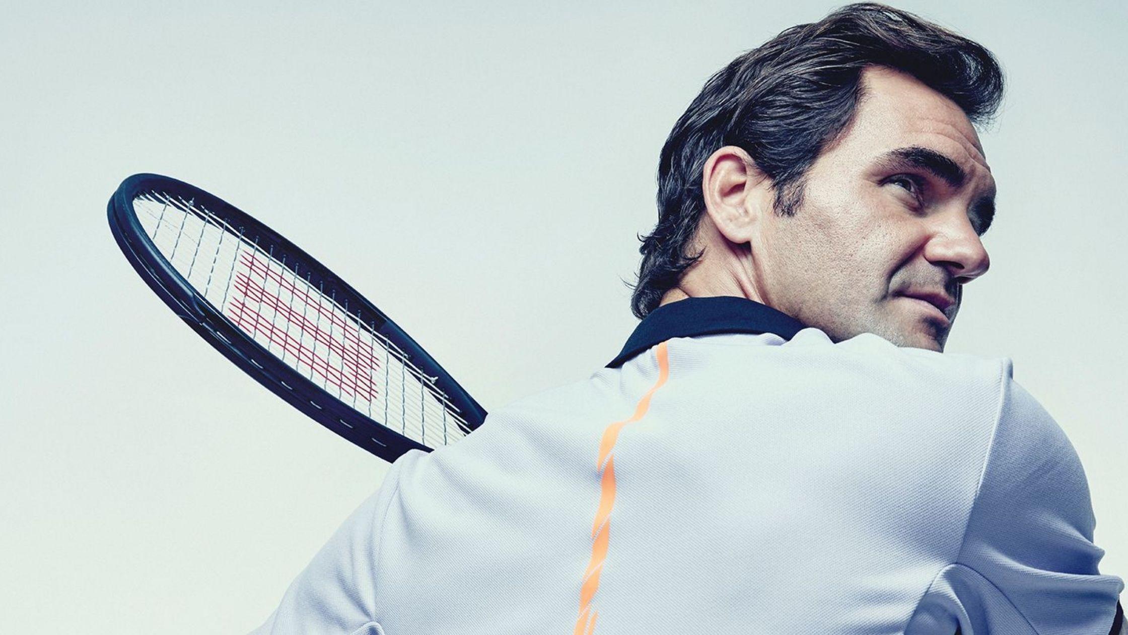 Roger Federer sets the return date