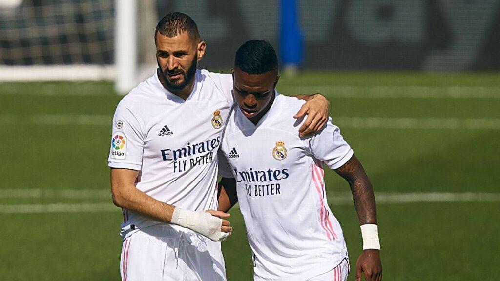 Vinicius, surprised by Benzema's words