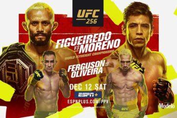 UFC 256 live stream